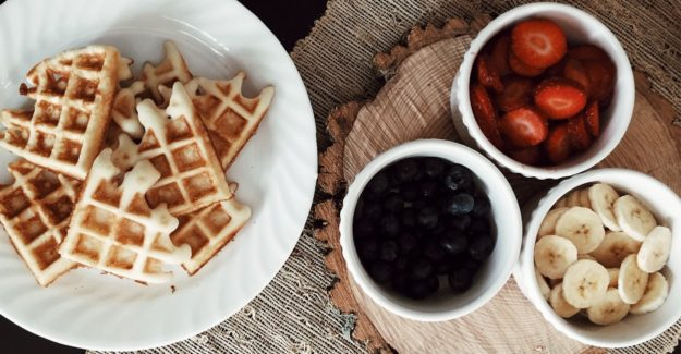 Whey Protein Waffles
